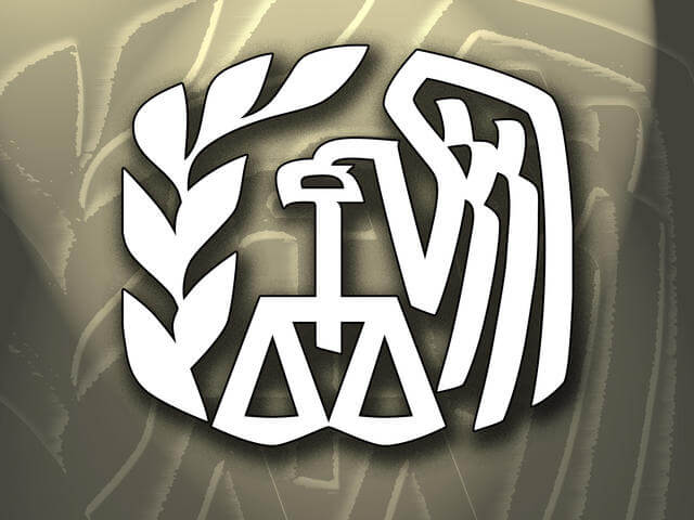 irs tax logo, tax scams