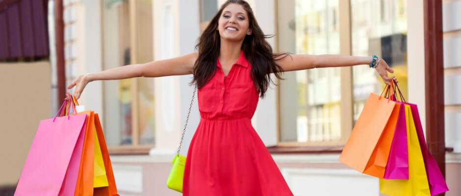 Impulse Shopping Woman