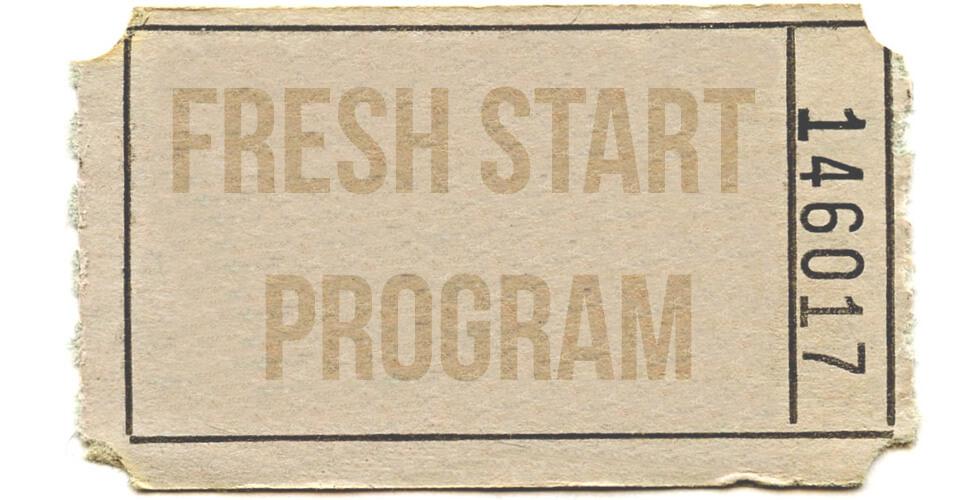 fresh start program ticket help paying taxes
