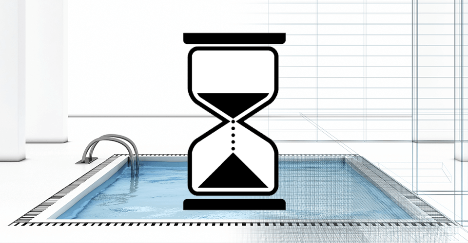 how long does it take to build a swimming pool