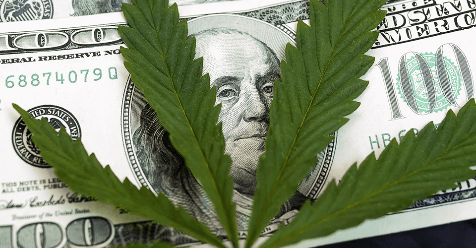 get funding for a marijuana business