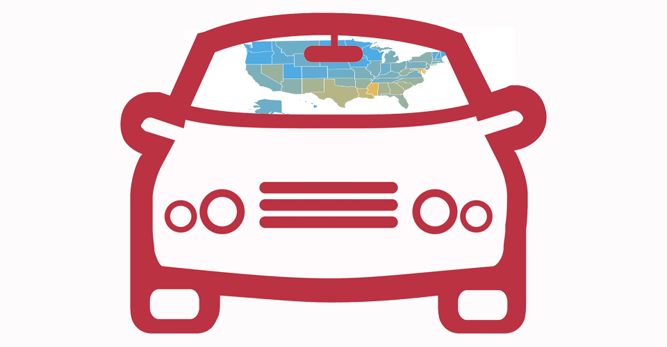 states with the highest auto loan delinquencies