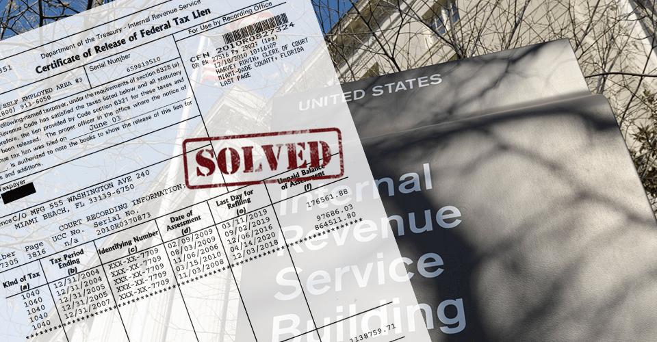 IRS Fresh Start Tax Lien Withdrawal