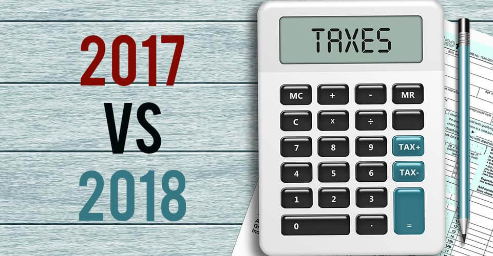 2018 tax reform new tax rates