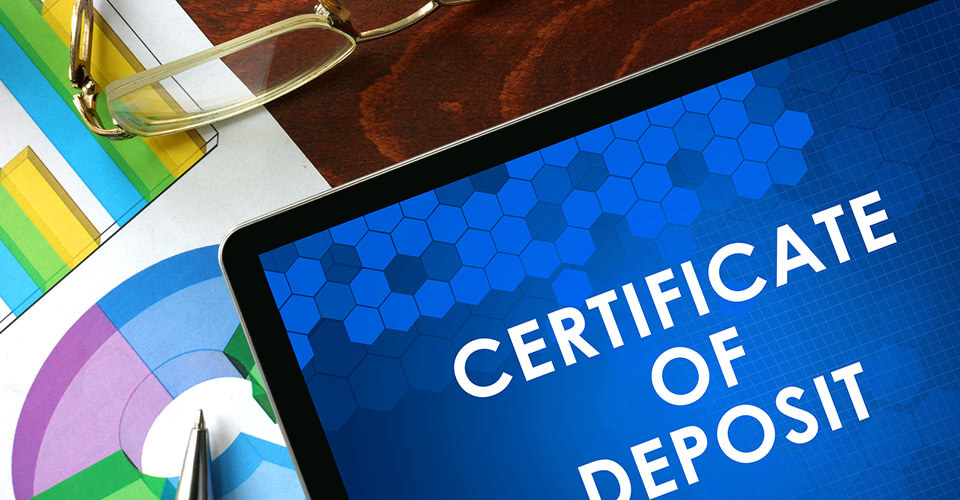 What is a cd or certificate of deposit