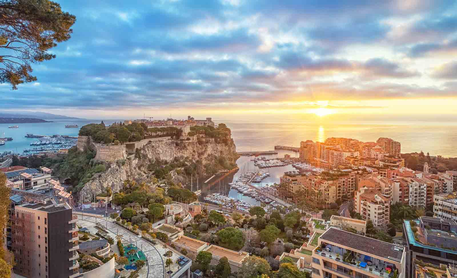 Monaco is the city with highest density of millionaires in the world