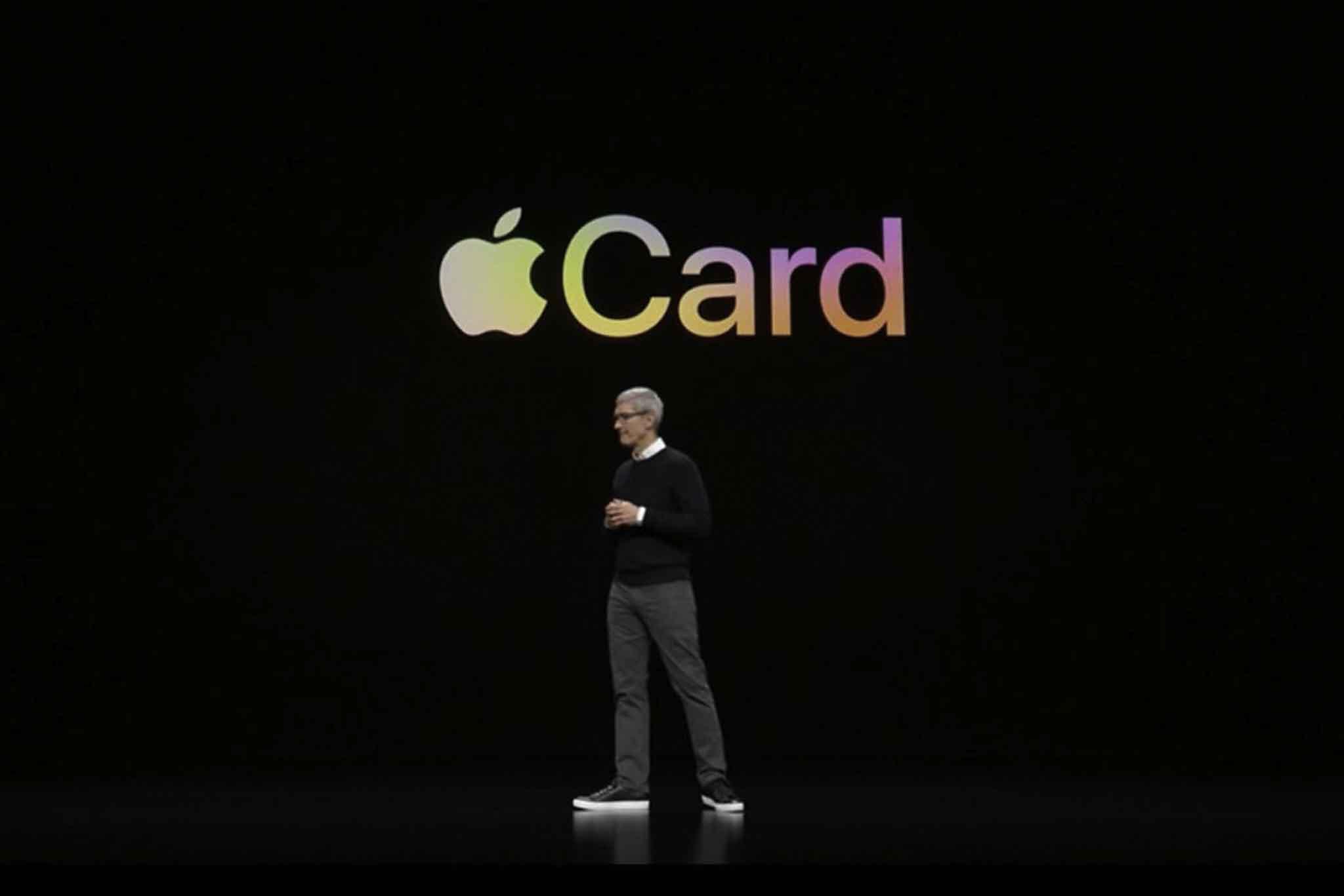 Apple announces Apple Card