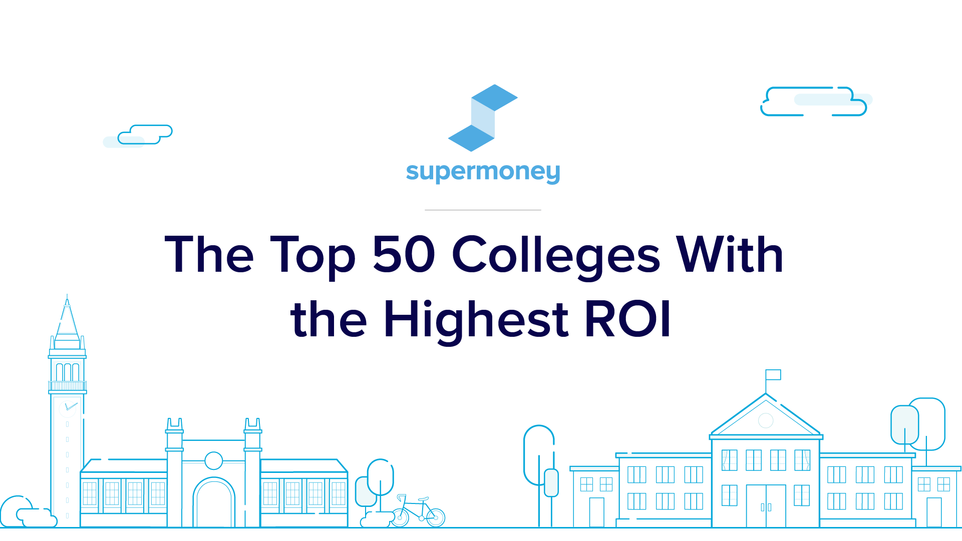 Top 50 colleges by ROI