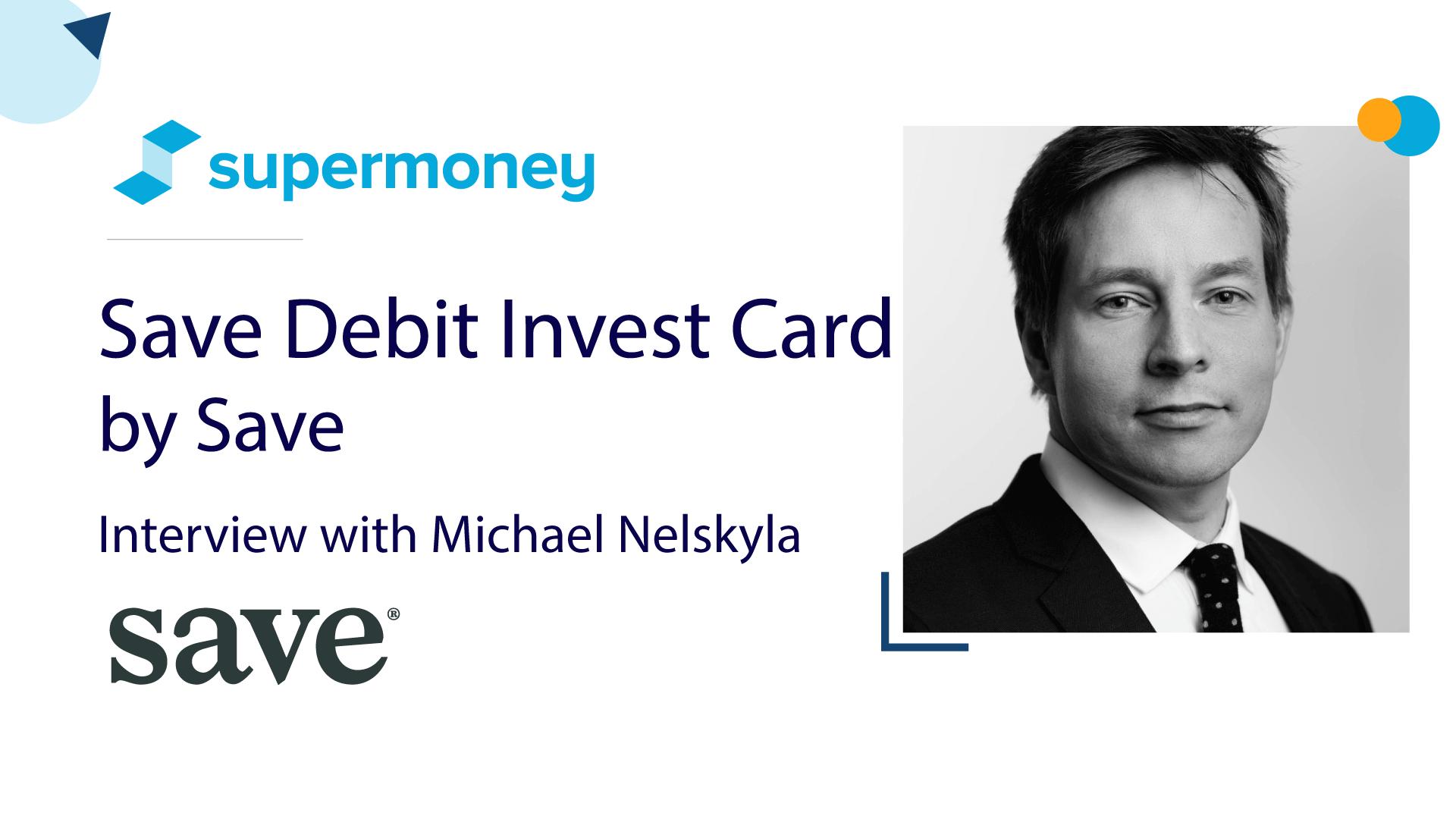 Save Invest Debit Card