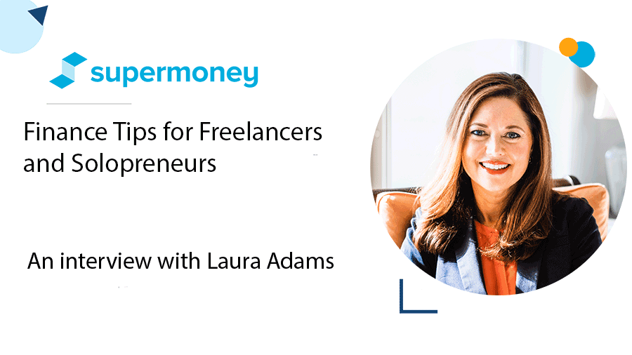 Finance tips for freelancers and gig workers interview with laura adams